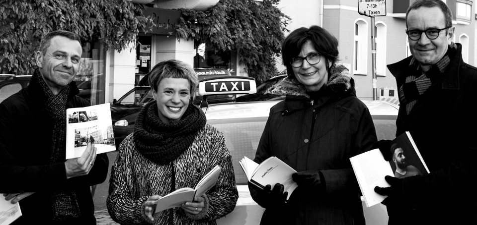 Von links: Christian Ring, Lena Weber, Anne Kitsch, Dietmar Engel (Foto: Marijke Debatin)